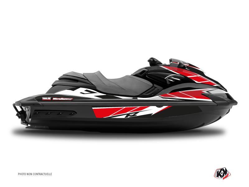 Yamaha FZR-FZS Jet-Ski Replica Graphic Kit Red