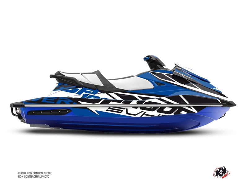 Yamaha GP 1800 Jet-Ski Replica Graphic Kit Blue