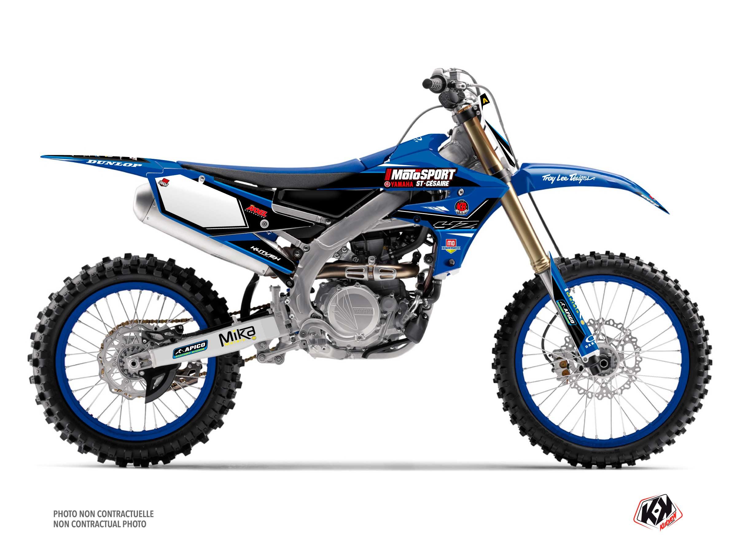 Kit Déco Moto Cross Replica Kaven Benoit K21 Yamaha 450 YZF