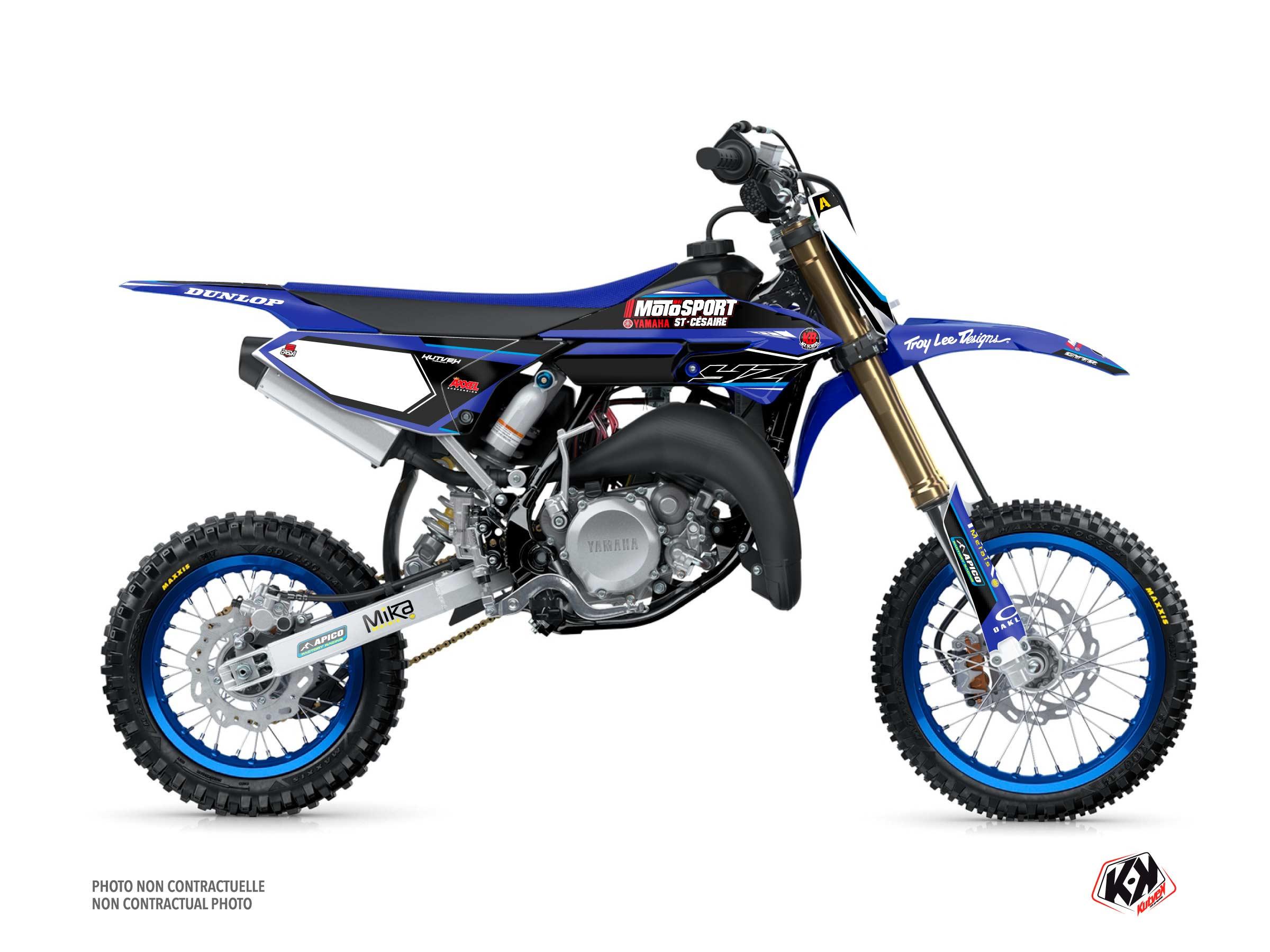 Yamaha 65 YZ Dirt Bike Replica Kaven Benoit K21 Graphic Kit