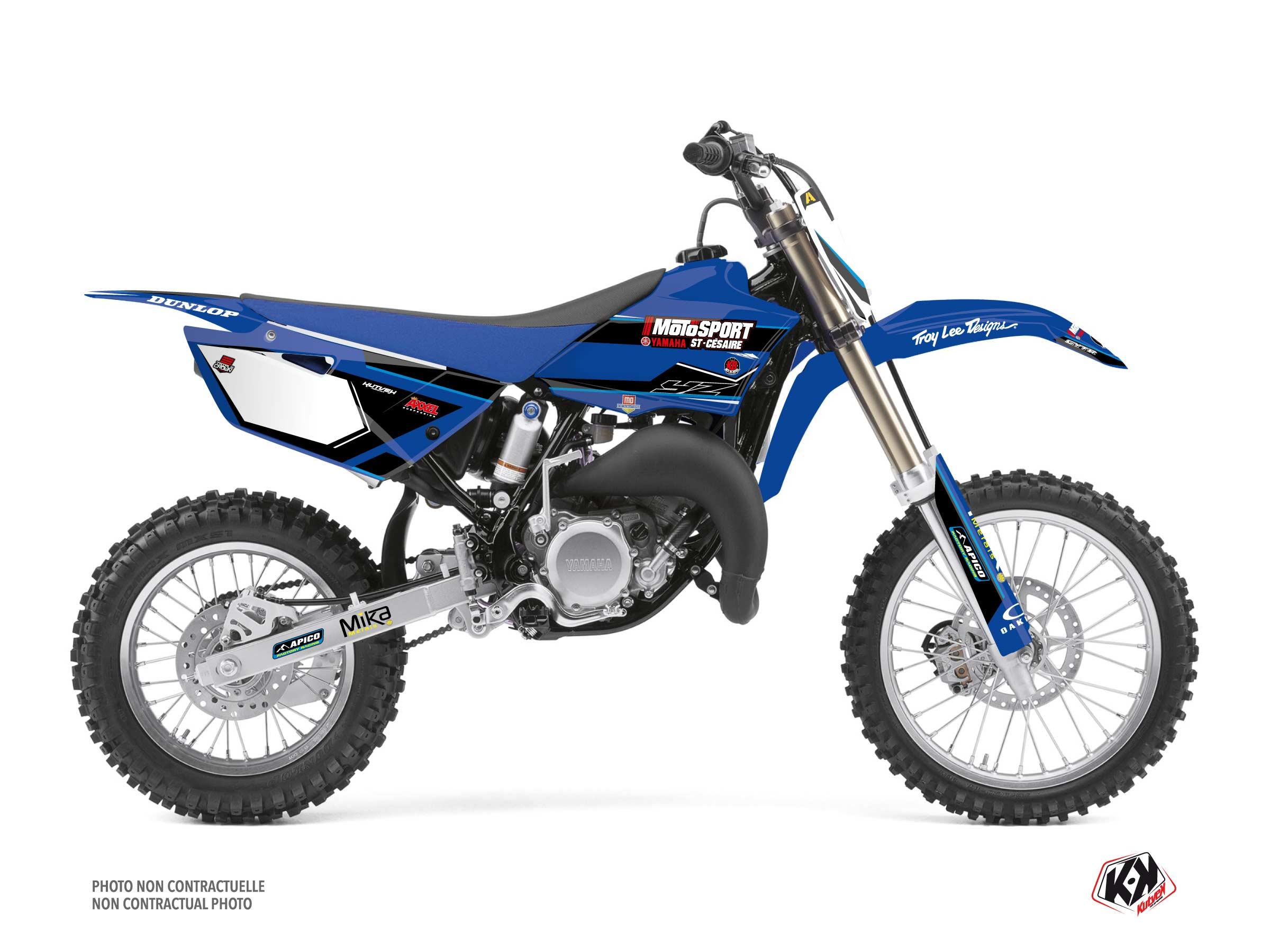 Yamaha 85 YZ Dirt Bike Replica Kaven Benoit K21 Graphic Kit