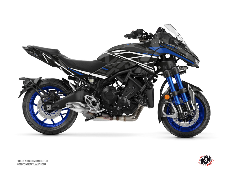 Yamaha NIKEN Street Bike Replica Graphic Kit Black