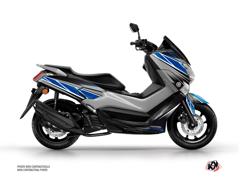 Yamaha NMAX 125 Maxiscooter Replica Graphic Blue Grey