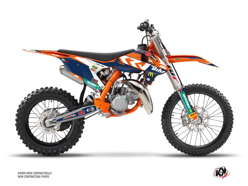 KTM 85 SX Dirt Bike Replica Pichon Graphic Kit