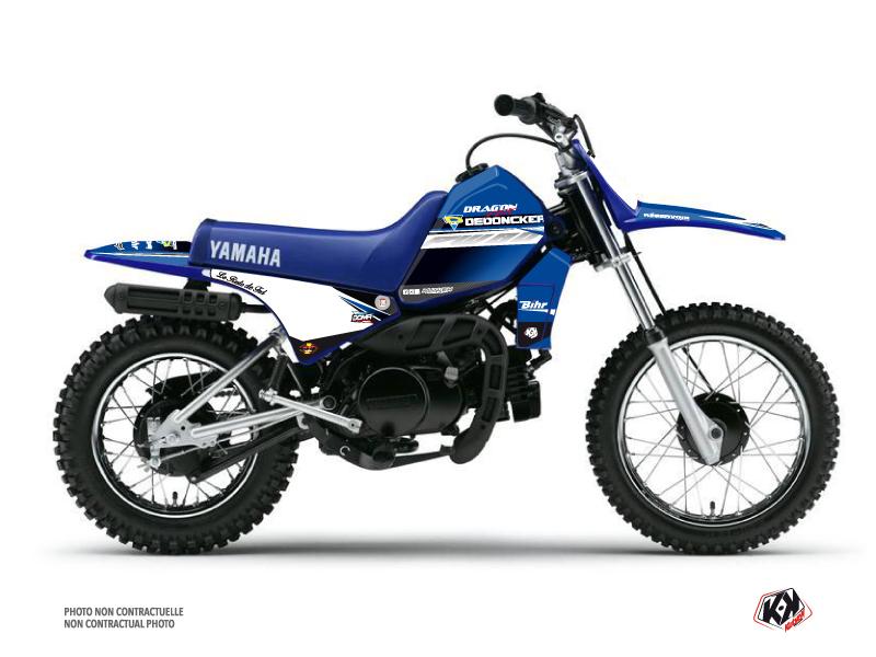 Kit Déco Moto Cross Replica Potisek Yamaha PW 80 2018