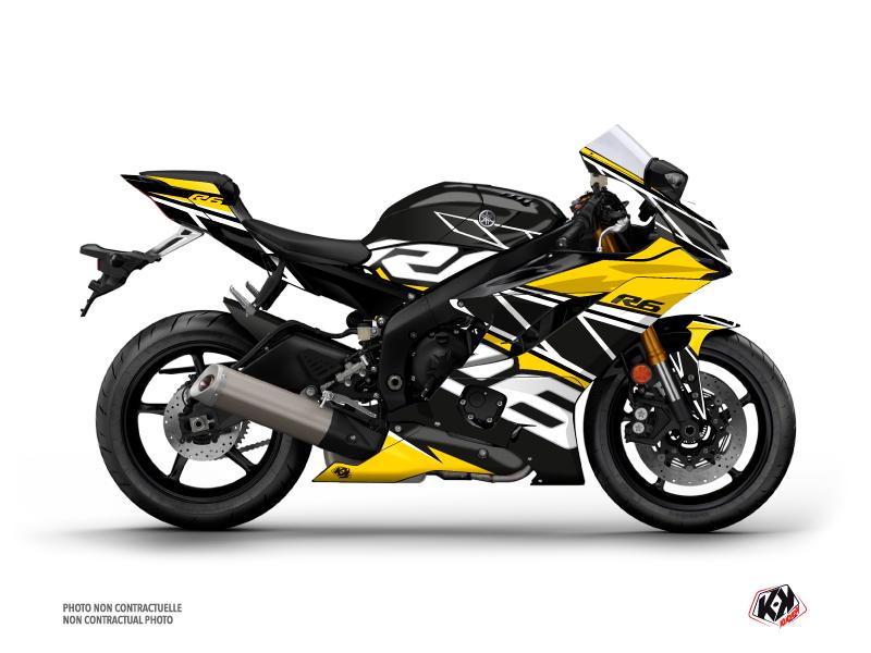 Yamaha R6 Street Bike Replica Graphic Kit 60th Anniversary