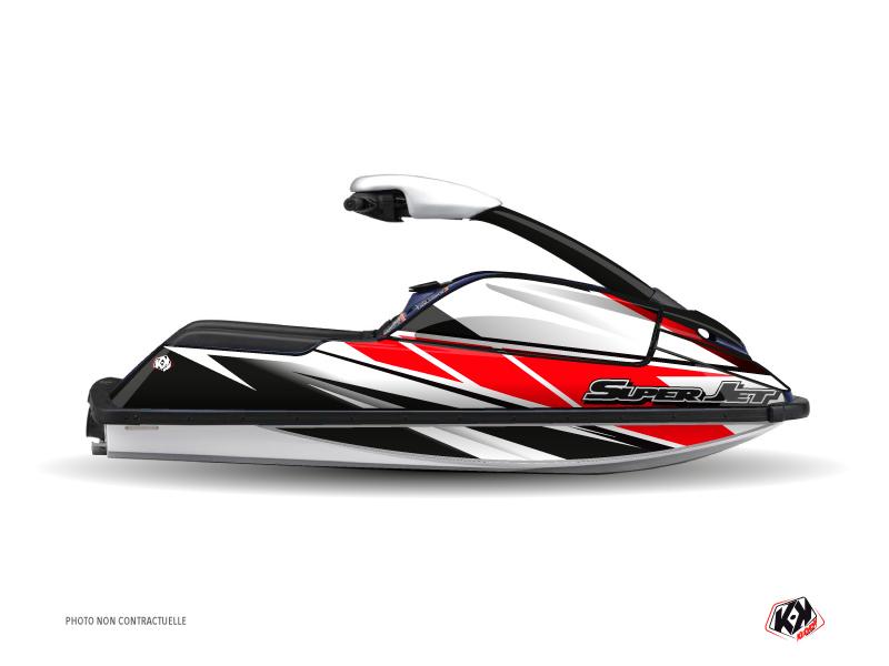 Yamaha Superjet Jet-Ski Replica Graphic Kit Red