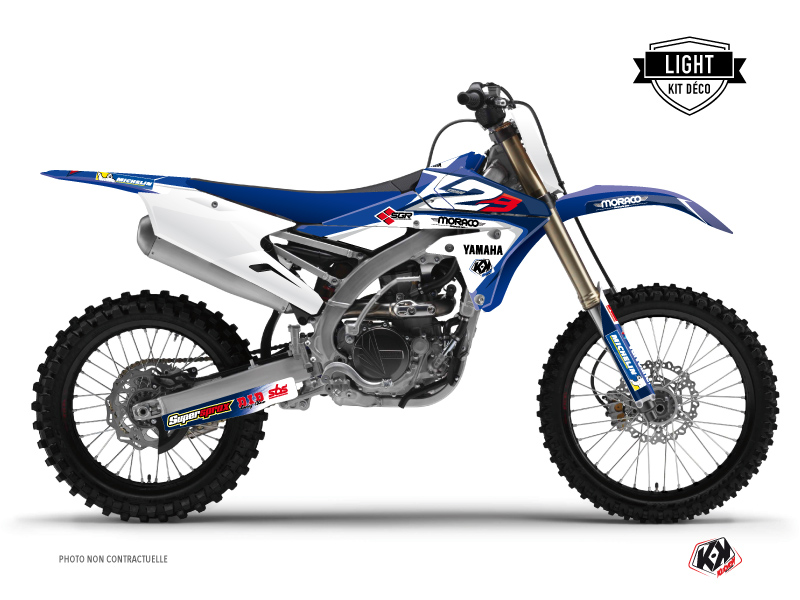 Yamaha 450 YZF Dirt Bike Replica Team 2b Graphic Kit LIGHT