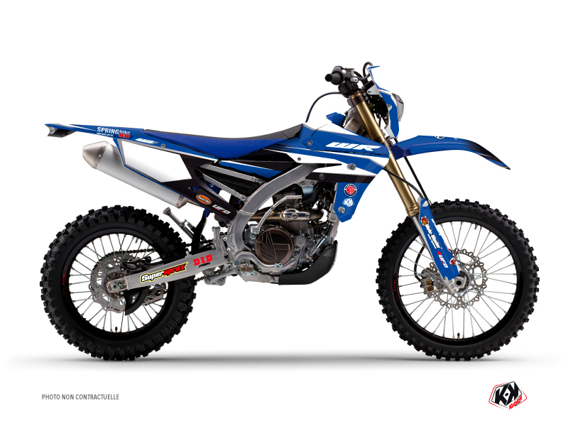 Yamaha 250 WRF Dirt Bike Replica Team Outsiders Graphic Kit 2017
