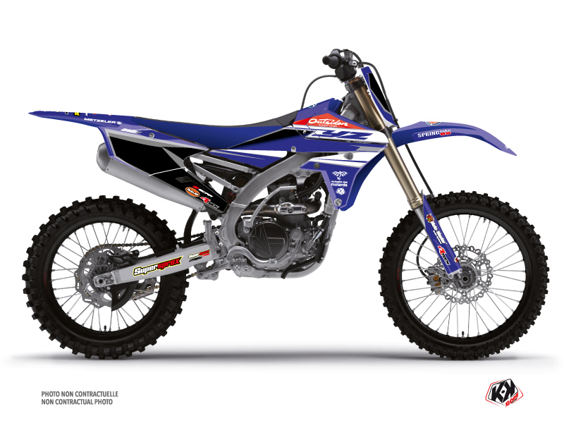 Yamaha 250 YZF Dirt Bike Replica Team Outsiders Graphic Kit 2018