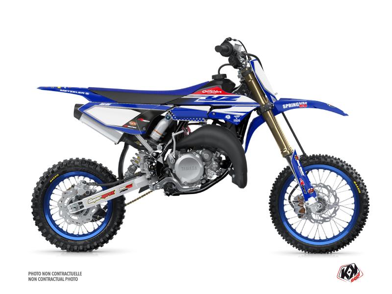 Yamaha 65 YZ Dirt Bike Replica Team Outsiders Graphic Kit 2018
