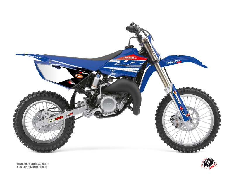 Yamaha 85 YZ Dirt Bike Replica Team Outsiders Graphic Kit 2018