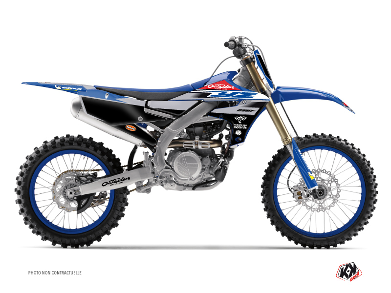 Yamaha 250 YZF Dirt Bike Replica Team Outsiders 2020 Graphic Kit