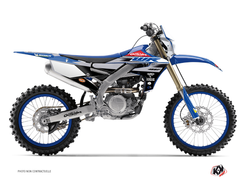 Kit Déco Moto Cross Replica Team Outsiders 2020 Yamaha 450 WRF
