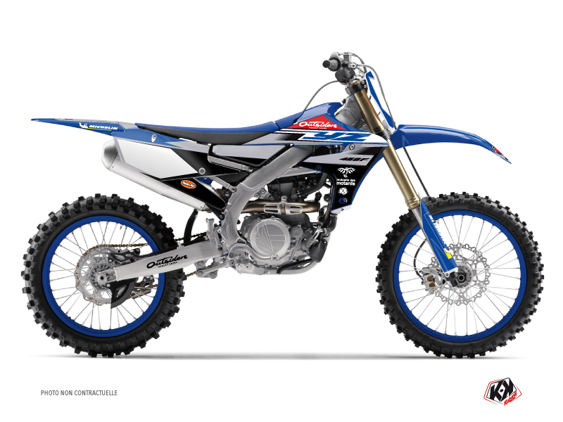 Yamaha 450 YZF Dirt Bike Replica Team Outsiders 2020 Graphic Kit
