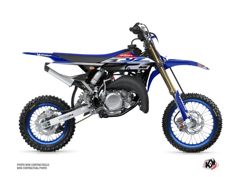 Yamaha 65 YZ Dirt Bike Replica Team Outsiders 2020 Graphic Kit