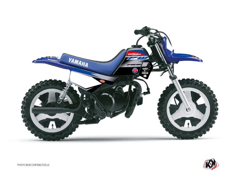 Yamaha PW 50 Dirt Bike Replica Team Outsiders 2020 Graphic Kit