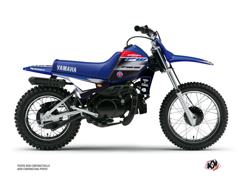 Kit Déco Moto Cross Replica Team Outsiders 2020 Yamaha PW 80