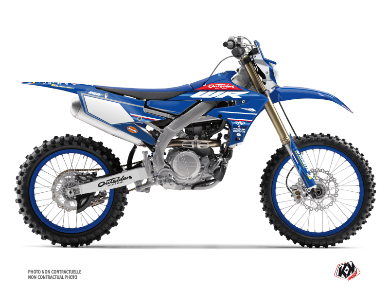 Yamaha 250 WRF Dirt Bike Replica Team Outsiders K21 Graphic Kit