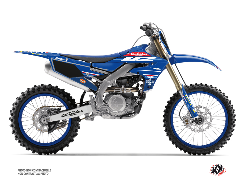 Yamaha 250 YZF Dirt Bike Replica Team Outsiders K21 Graphic Kit