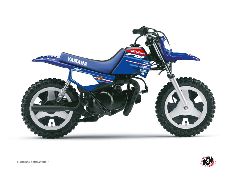 Yamaha PW 50 Dirt Bike Replica Team Outsiders K21 Graphic Kit