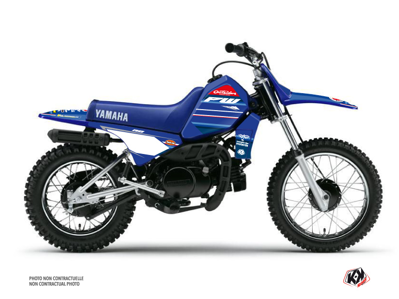Kit Déco Moto Cross Replica Team Outsiders K21 Yamaha PW 80