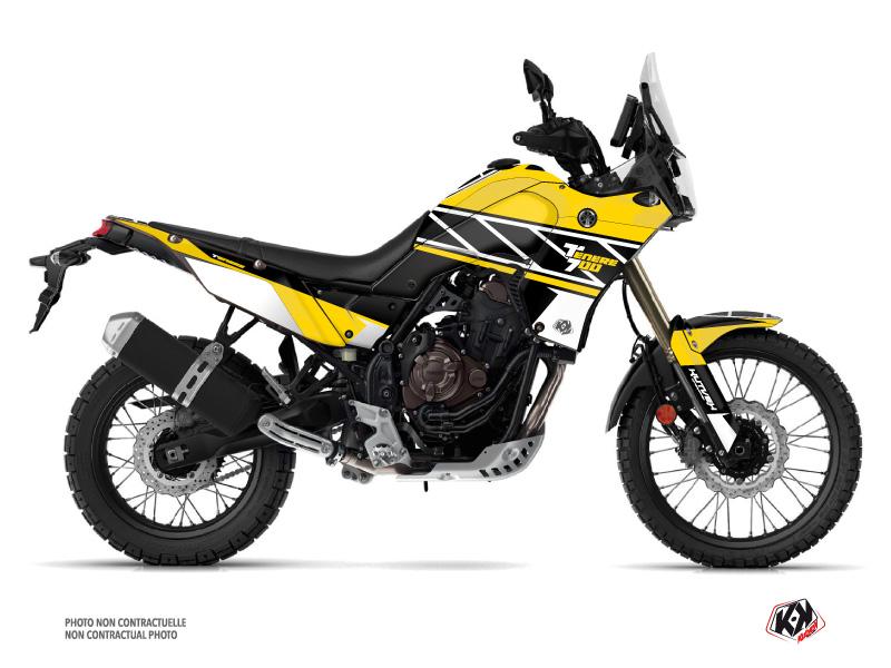 Yamaha TENERE 700 Street Bike Replica Graphic Kit Yellow