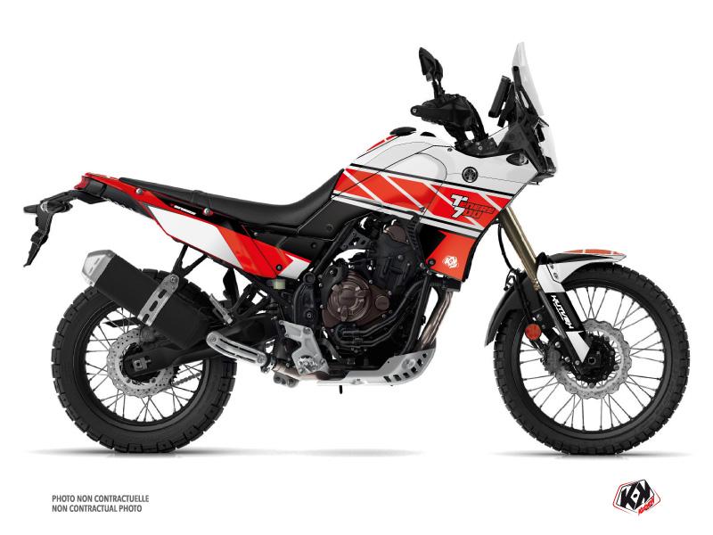 Yamaha TENERE 700 Street Bike Replica Graphic Kit Red