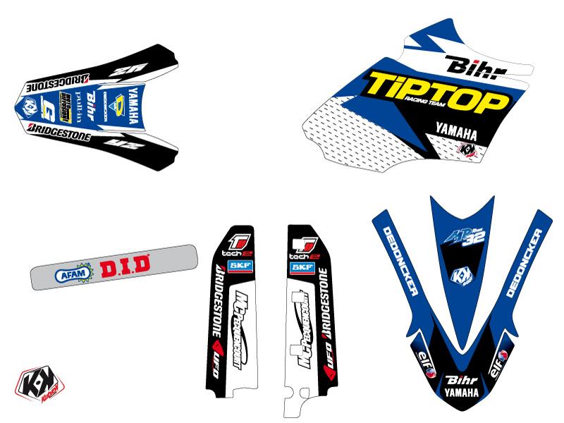 Kit Déco Moto Cross Replica Team Tip Top Yamaha 85 YZ LIGHT