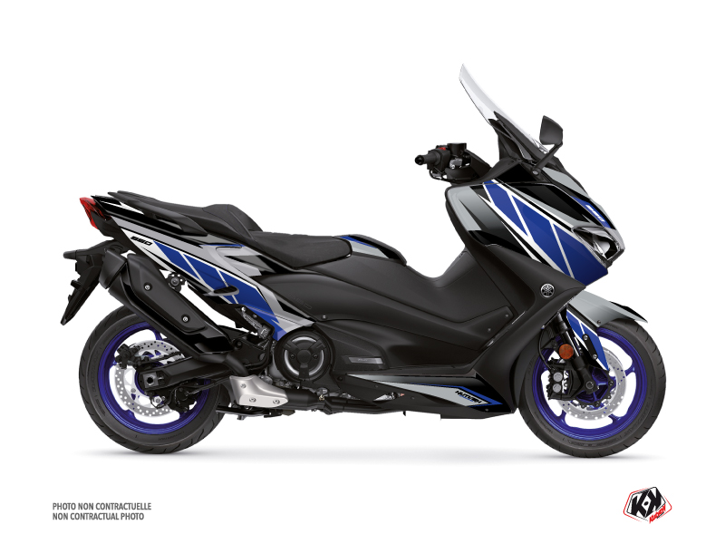 Yamaha TMAX 560 Maxiscooter Replica Graphic Kit Grey Blue