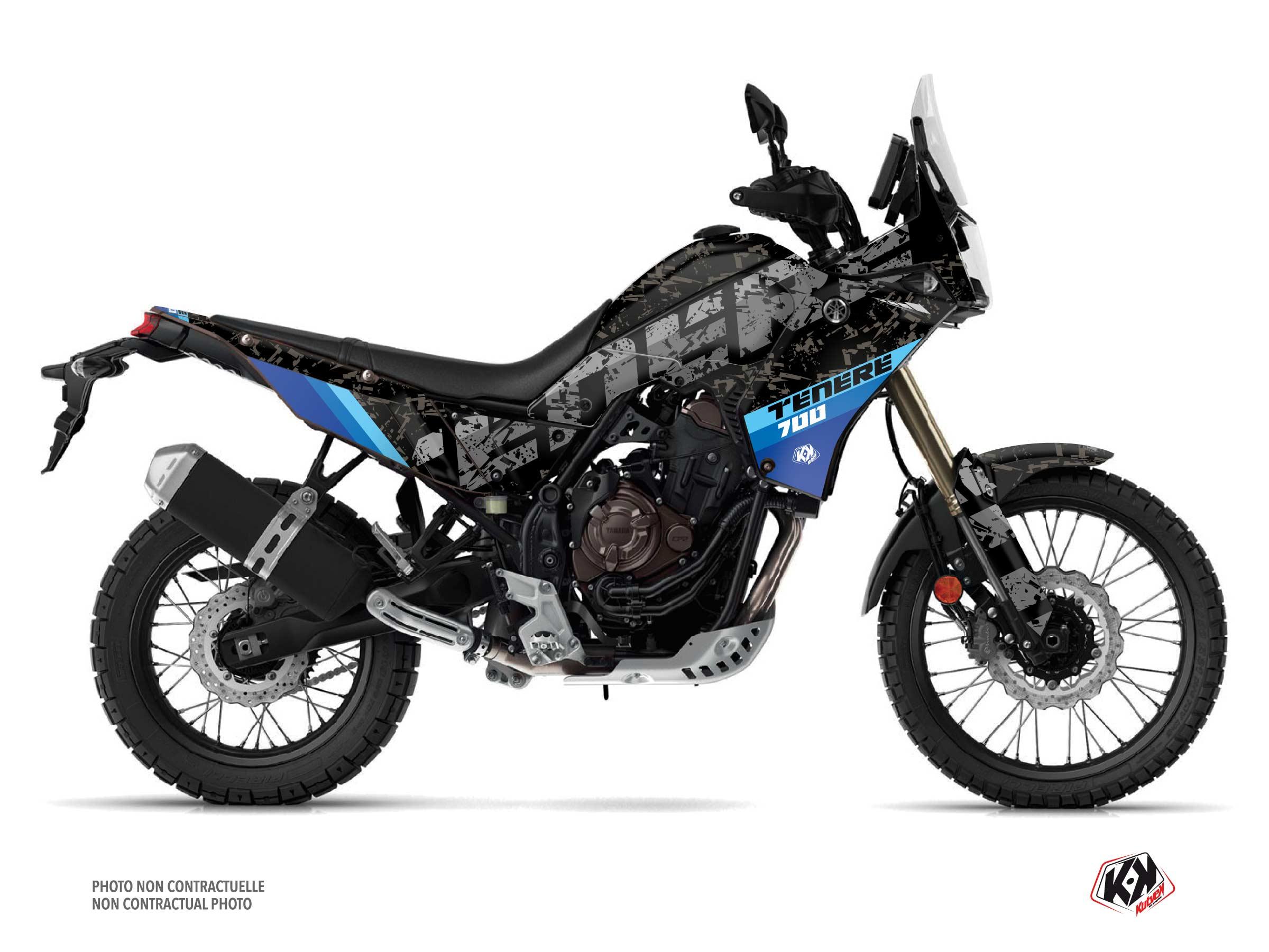 Yamaha TENERE 700 Street Bike Touareg Graphic Kit Blue