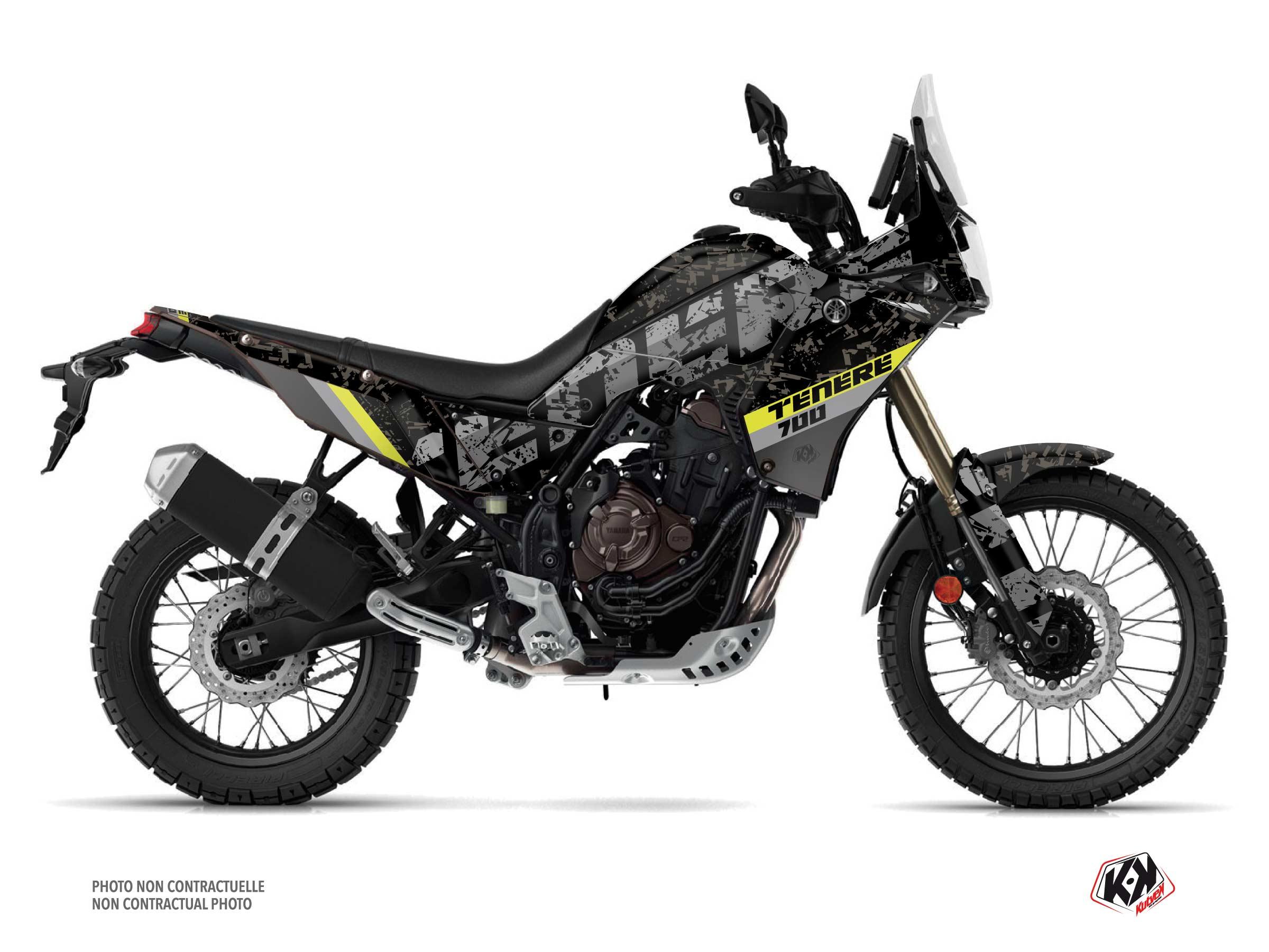 Yamaha TENERE 700 Street Bike Touareg Graphic Kit Yellow
