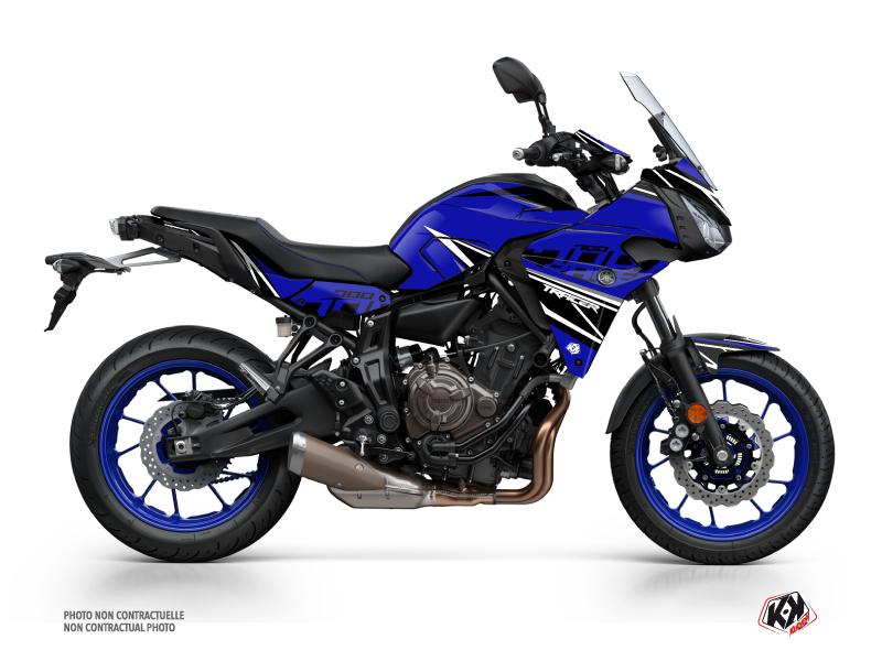 Yamaha TRACER 700 Street Bike Replica Graphic Kit Blue