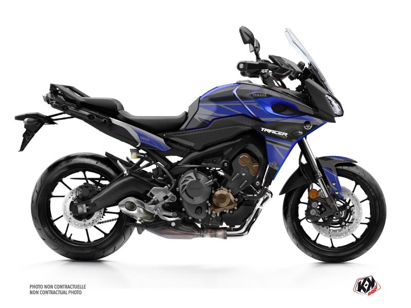 Yamaha TRACER 900 Street Bike Replica Graphic Kit Black Blue