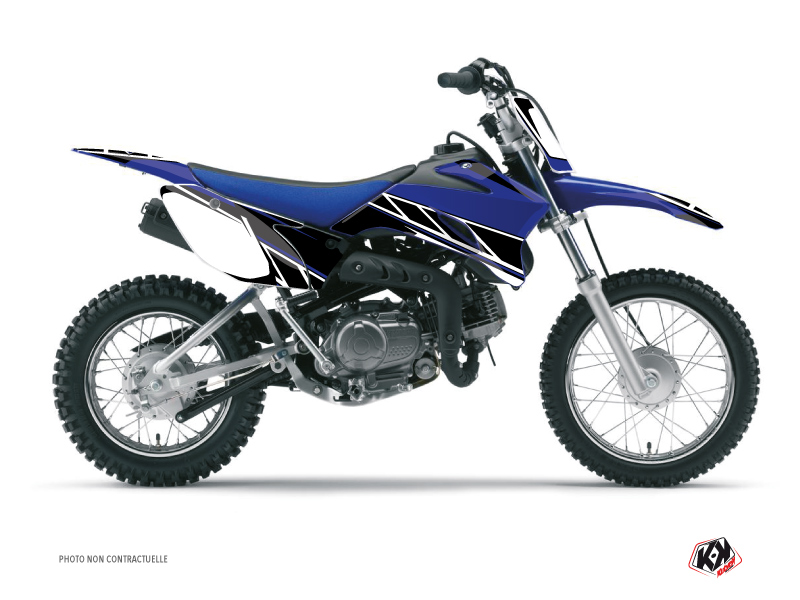 Yamaha TTR 110 Dirt Bike Replica Graphic Kit Blue
