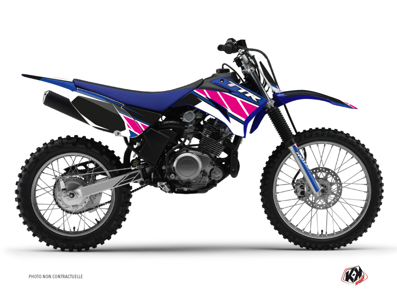 Yamaha TTR 125 Dirt Bike Replica Graphic Kit Pink
