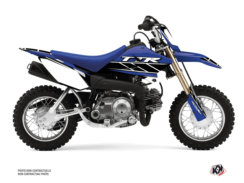 Kit Déco Moto Cross Replica Yamaha TTR 50 Bleu
