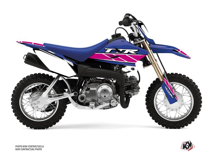 Kit Déco Moto Cross Replica Yamaha TTR 50 Rose