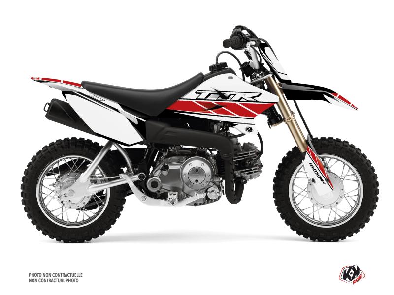 Kit Déco Moto Cross Replica Yamaha TTR 50 Rouge