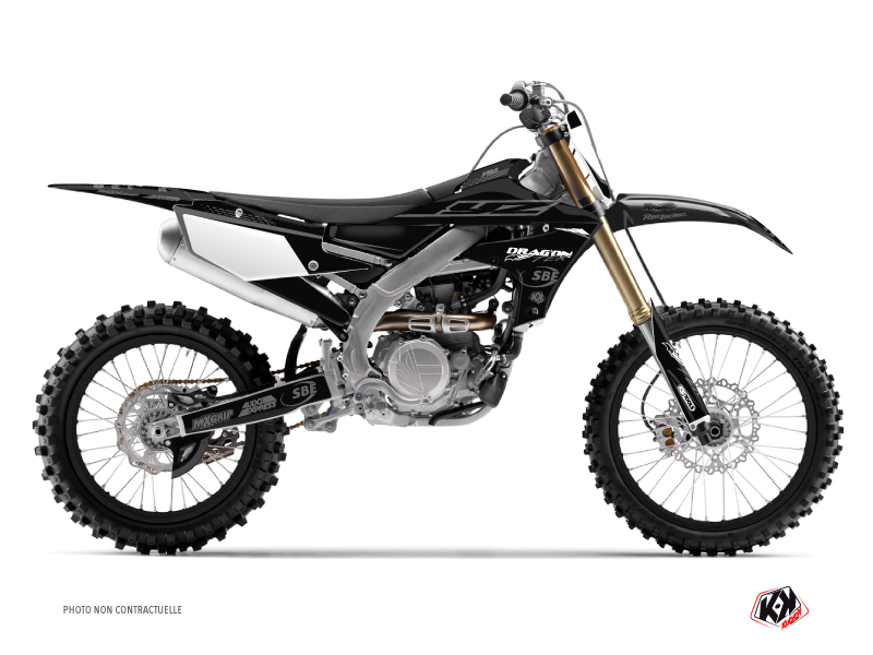 Yamaha 450 YZF Dirt Bike Replica Van Beveren Graphic Kit 2018-2019