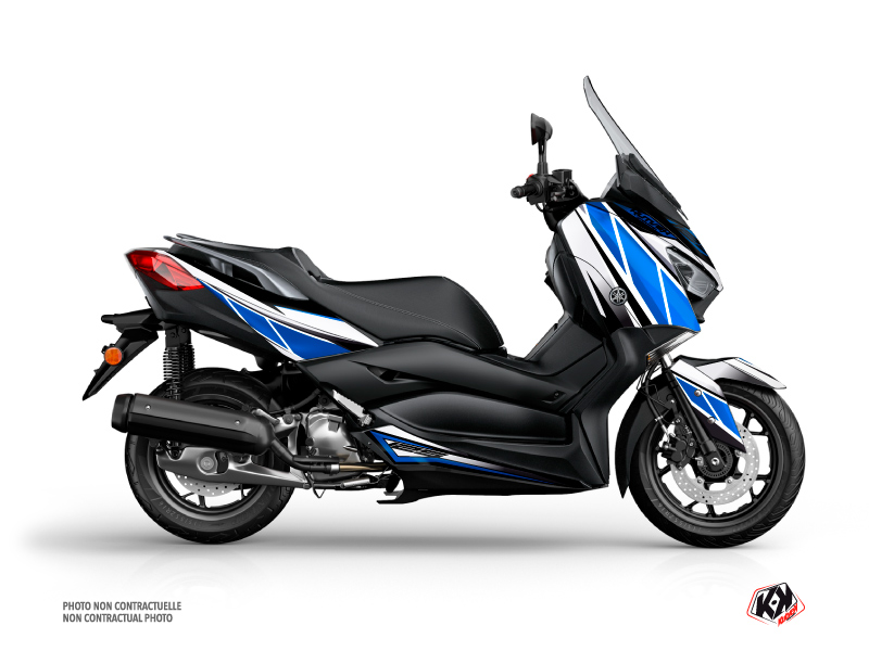 Yamaha XMAX 125 Maxiscooter Replica Graphic Blue Grey