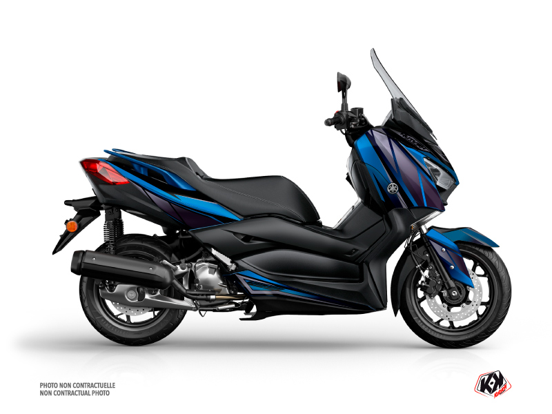 Yamaha XMAX 125 Maxiscooter Replica Graphic Blue Black