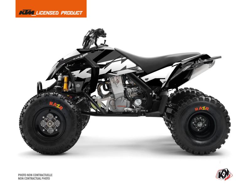 KTM 450-525 SX ATV Retro Graphic Kit Black