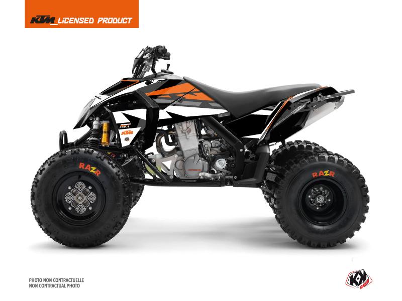 Kit Déco Quad Rift KTM 450-525 SX Noir Orange