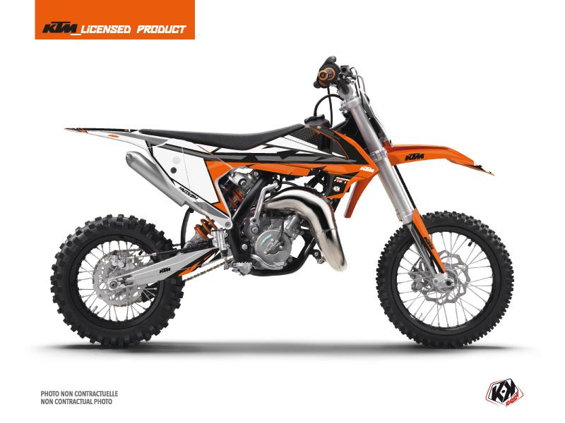 KTM 65 SX Dirt Bike Rift Graphic Kit Orange Black