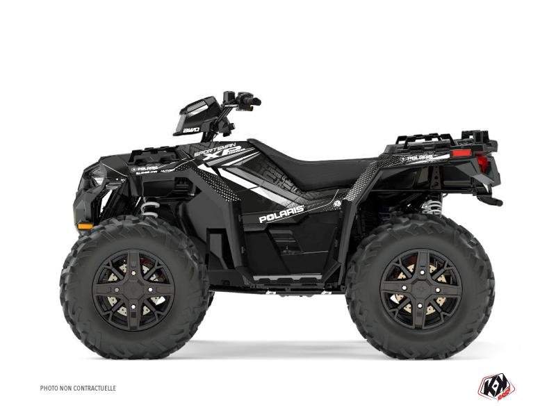 Polaris 1000 Sportsman XP Forest ATV Rock Graphic Kit Grey