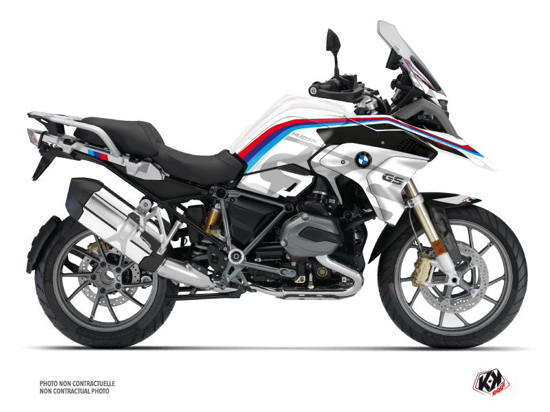 BMW R 1200 GS Exclusive Street Bike RR Graphic Kit White
