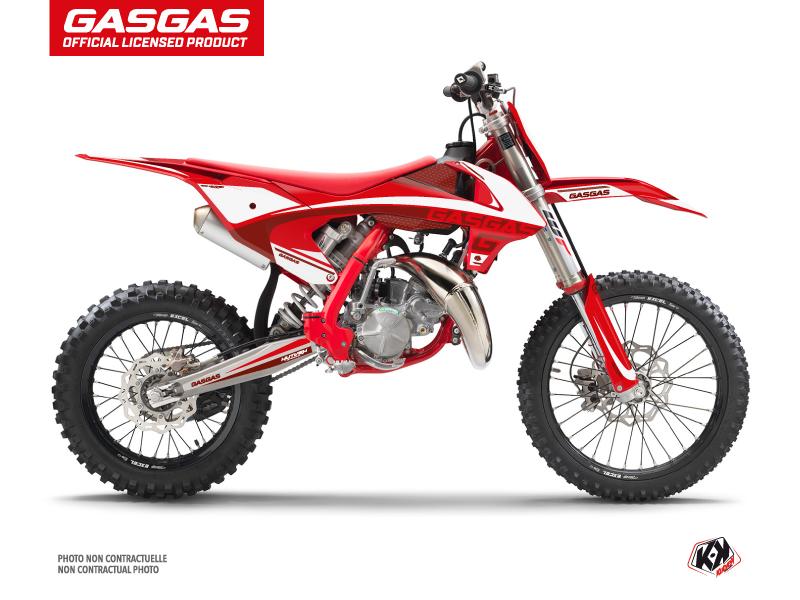 GASGAS MC 85 Dirt Bike Rush Graphic Kit Red