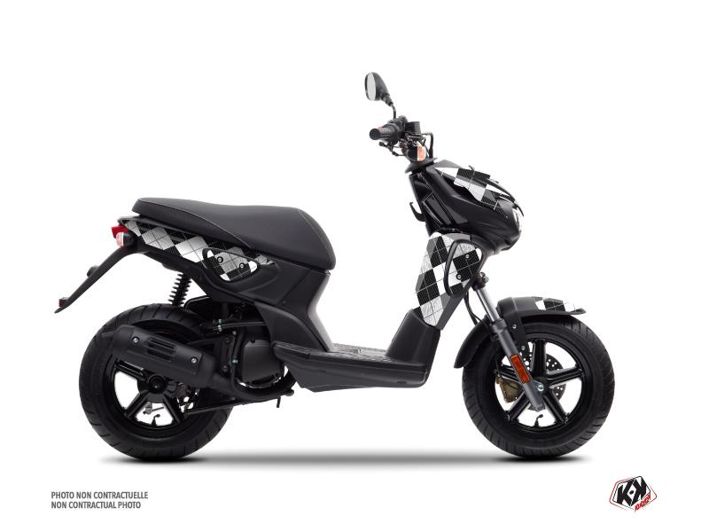 Yamaha Slider Scooter Scottish Graphic Kit Black