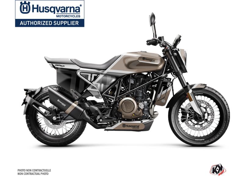 Kit Déco Moto Sekment Husqvarna Svartpilen 701 Marron Noir